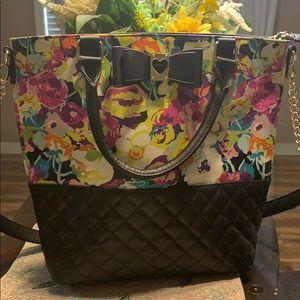 Betsey Johnson Multicolored Handbag